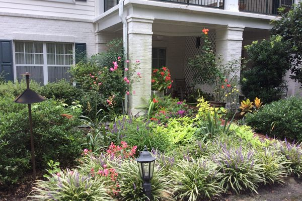 CV-Patios with Flowers